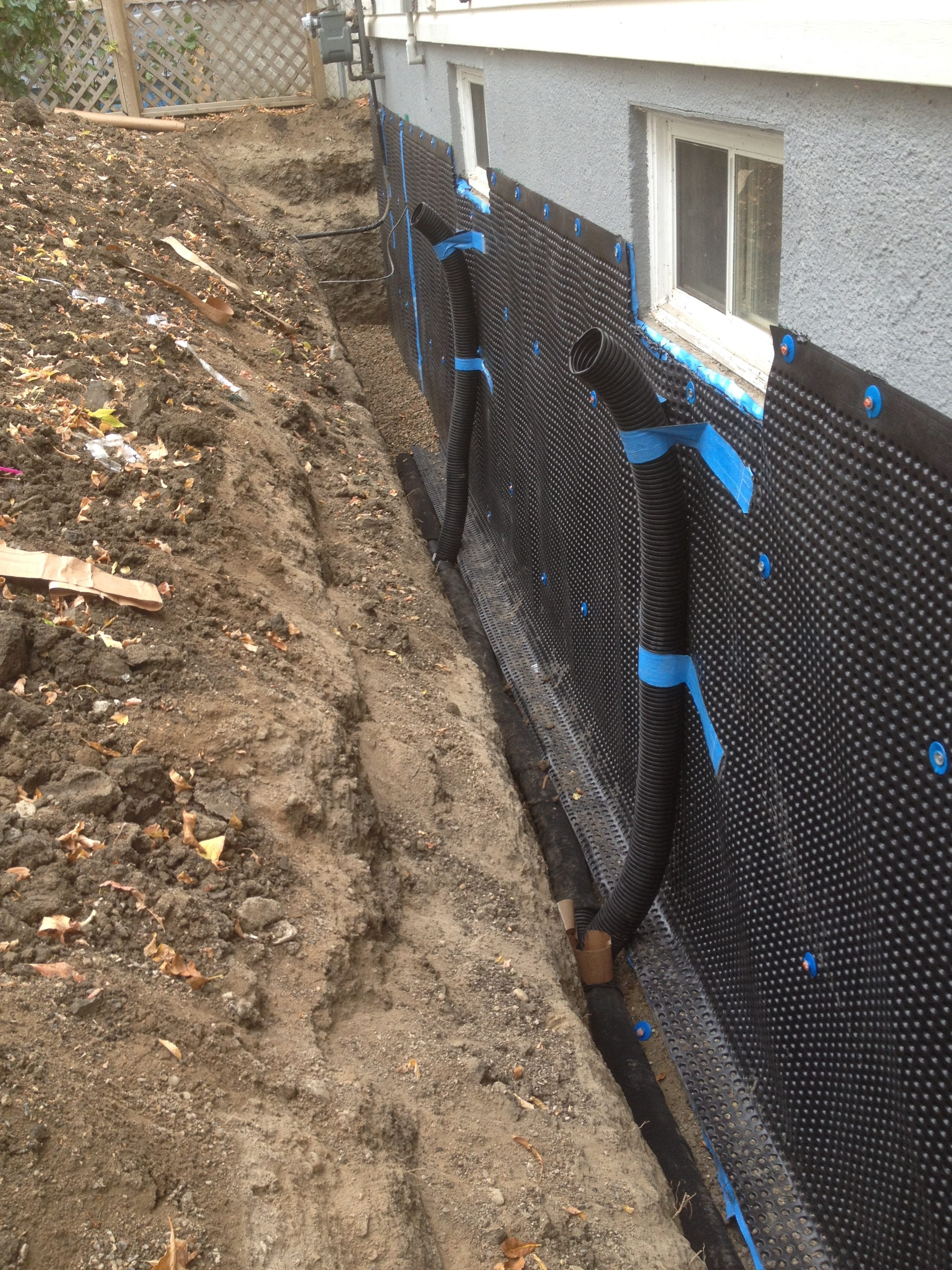 exterior waterproofing  u2013 forged foundations
